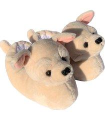 pantuflas perro chihuahua  para hombre y mujer