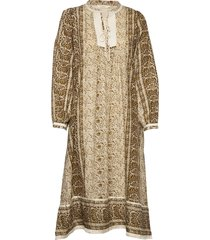 emily jurk knielengte bruin rabens sal r