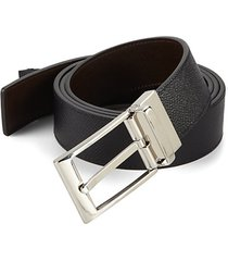 reversible grain leather belt