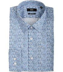 hugo boss eliott overhemd organic print 50439755/420