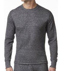 stanfield's men's 2 layer merino wool blend thermal long sleeve shirt