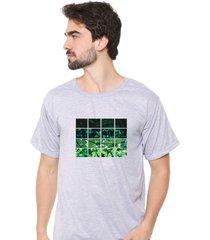 camiseta sandro clothing nature cinza - cinza - masculino - dafiti