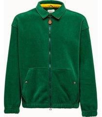 aime' leon dore giacca evergreen con zip