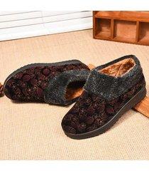 stivali da neve alla caviglia con fodera calda in pelle scamosciata