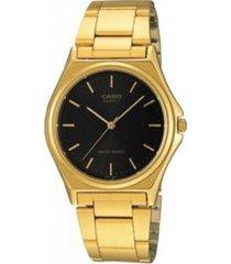 reloj casio mtp_1130n_1ar dorado acero inoxidable
