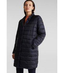 abrigo acolchado con relleno thinsulate de 3m azul marino esprit