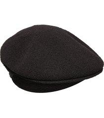 kg bermuda 504 accessories headwear flat caps svart kangol