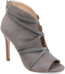 journee collection women's samara bootie women's shoes