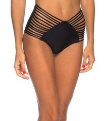 calcinha hot pants strappy lua morena preto
