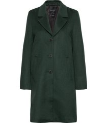 slfsasja wool coat noos b yllerock rock grön selected femme
