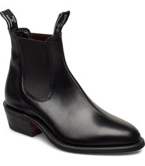 the yearling shoes boots ankle boots ankle boot - heel svart r.m. williams