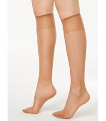 hanes women's silk reflections knee highs silky sheers 725