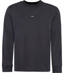 a.p.c. chris cotton t-shirt