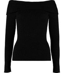 parosh off-shoulders pullover