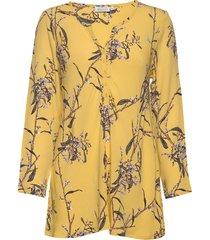 danica blouse lange mouwen geel masai