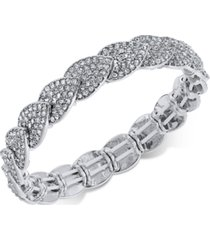 inc pave stretch bracelet, created for macy's