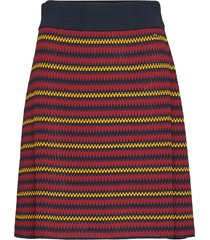 colette knit skirt knälång kjol multi/mönstrad morris lady