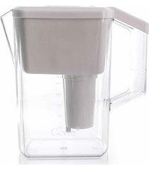 jarra purificadora para água alcalina branca