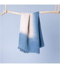 lenço fátima cor: azul - tamanho: único