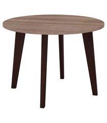 mesa de centro retrô movelbento rt3082 redonda