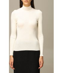 alberta ferretti sweater alberta ferretti ribbed virgin wool turtleneck