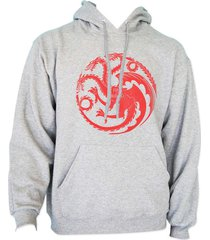 fire and blood targaryen sigil mother of dragons got unisex hoodie heather