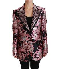 bloemen brocade blazer jacket