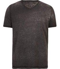 camisetas khelf camiseta masculina decote v mescla devorê grafite