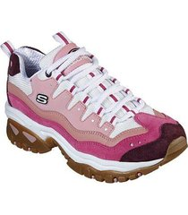 tenis lifestyle energy - sunny waves skechers 13413pkw - rosa