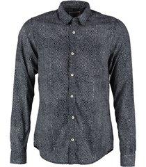 garcia slim fit overhemd dark moon