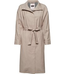 obipw otw trenchcoat lange jas beige part two
