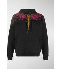 marcelo burlon county of milan digital-print hooded sweatshirt