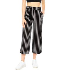 pantalón jacqueline de yong geggo treats negro - calce holgado