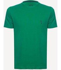 camiseta aleatory plus size básica lisa masculina - masculino