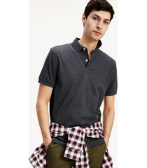polo core tommy regular gris tommy hilfiger
