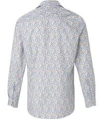 overhemd van 100% katoen met print van olymp beige