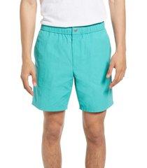 men's rag & bone men's eaton shorts, size large - blue