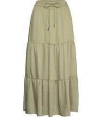 bambu knälång kjol grön mango