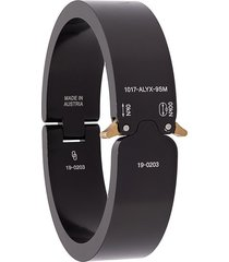 1017 alyx 9sm contrast logo bracelet - black