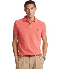 polo ralph lauren men's big & tall classic-fit cotton mesh polo