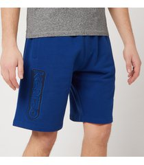kenzo men's technical mesh shorts - navy blue - m