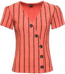 maglia con bottoni (rosso) - bodyflirt