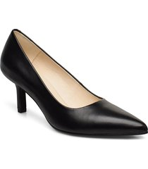 pauline shoes heels pumps classic svart vagabond
