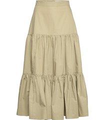 skirt ankle lenght knälång kjol grön ivy & oak