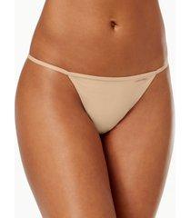 calvin klein sleek model g-string thong underwear d3509