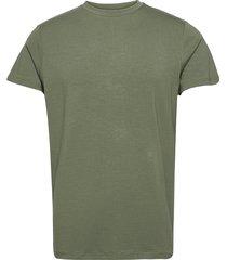 bamboo r-neck tee fsc t-shirts short-sleeved grön resteröds