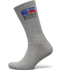 boss x russell athletic qs russell cc_ra underwear socks regular socks grå boss