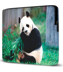 capa para notebook panda 15 polegadas - kanui