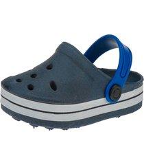 babuche infantil sandália minipasso azul marinho