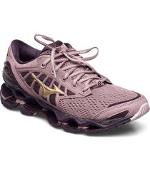 wave prophecy 9 w shoes sport shoes running shoes rosa mizuno